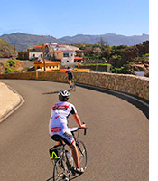Canary Islands biking photo